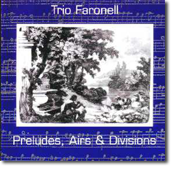Preludes, Airs and Divisions - CD Cover